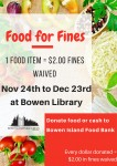 Food for Fines 2015 Poster