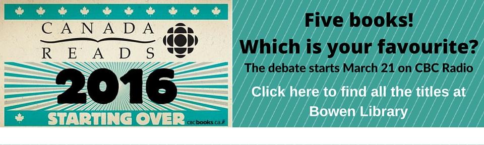 CBC Canada Reads 2016
