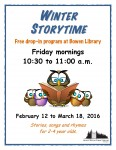 Winter storytime 2016