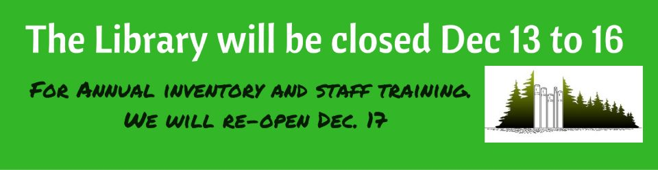 library-will-be-closed-dec-13-to-16