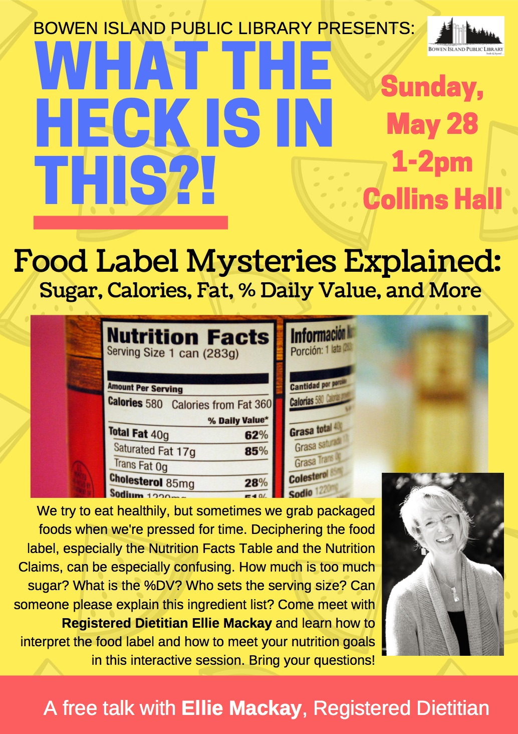 What the Heck is In This?! Food Label Mysteries Explained: Sugar