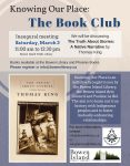 Book Club Poster Knowing Our Place