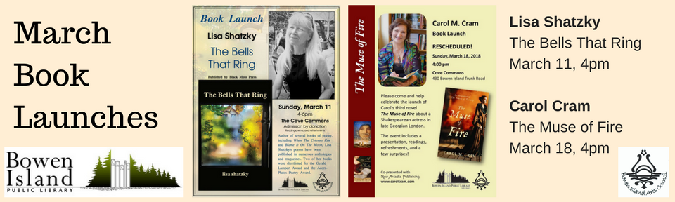 March Book Launches