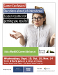 Ask a Career Advisor 2018 - Bowen Island - Fall Dates