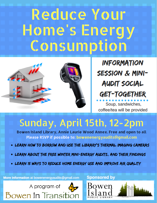 Energy Audit Event Poster
