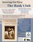 March 24 (2nd Meeting) Book Club Poster Knowing Our Place