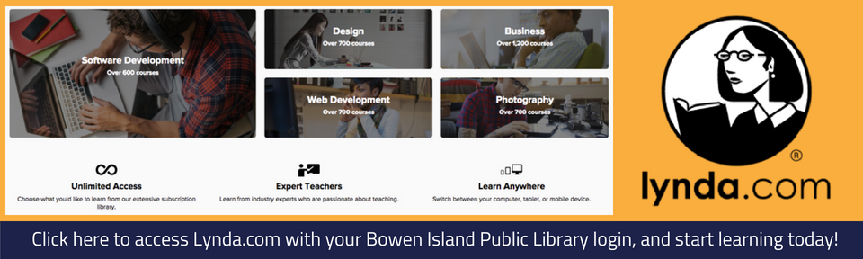 Log in to Lynda.com with your library