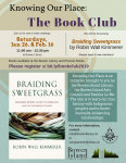 Winter 2019 Book Club Poster Knowing Our Place