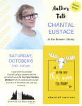 Chantal Eustace Author Talk