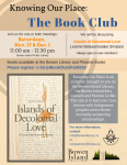 Knowing Our Place Bookclub @ Bowen Island Public Library - Flex Room