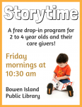 Island Page Storytime Returns Poster
