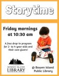 Storytime @ Bowen Island Library