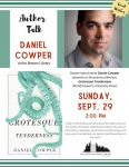 Daniel Cowper Author Talk @ Bowen Library - Annie Laurie Wood Annex