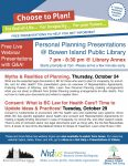 Nidus: Myths & Realities of Planning @ Bowen Library - Annie Laurie Wood Annex