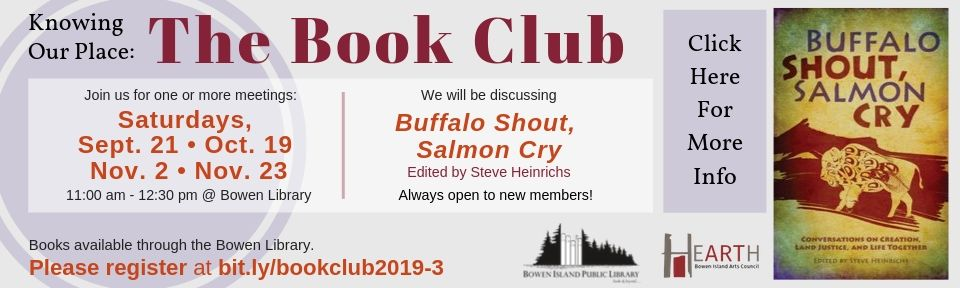 Copy of Fall 2019 Book Club Poster Knowing Our Place
