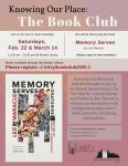 Knowing Our Place Book Club @ Bowen Library Flex Room