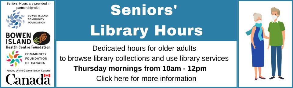 Seniors' Hours Slide
