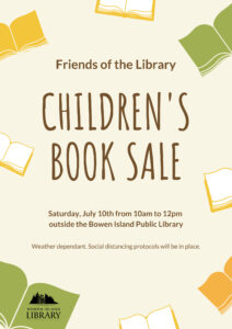Children's Book Sale - Friends of the Library @ Bowen Library Annex Lawn