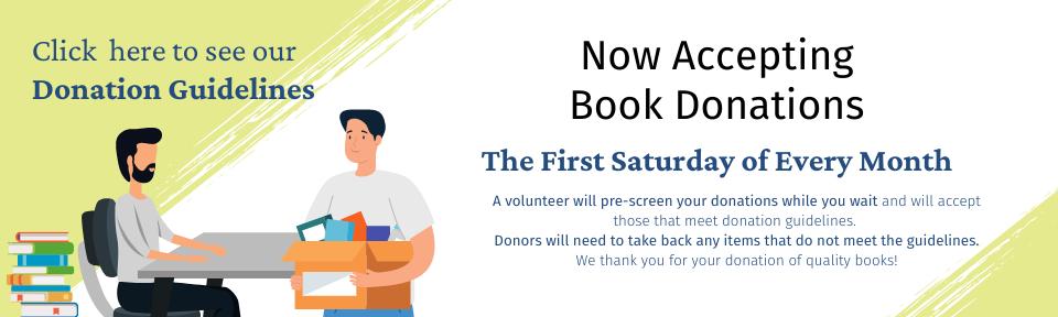 Slide FOBILS Book Donations Procedure 2021