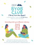 BYOBook Club (Ages 18-35) @ Bowen Library Annex or Outside (or online via Zoom if necessary—check here for updates)